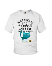LOVE AND CAT Youth T-Shirt thumbnail