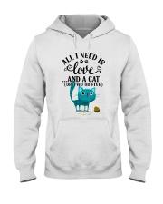 LOVE AND CAT Hooded Sweatshirt thumbnail