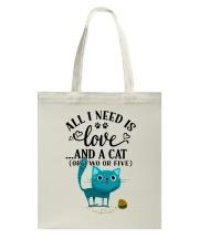 LOVE AND CAT Tote Bag thumbnail