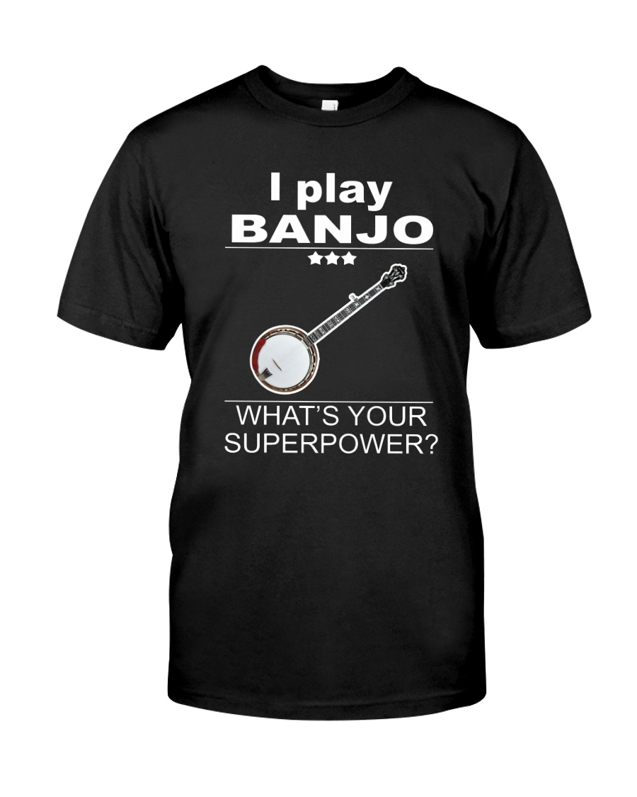 SUPERPOWER BANJO Classic T-Shirt