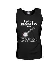 SUPERPOWER BANJO Unisex Tank thumbnail