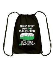 DAUGHTER CAMPING Drawstring Bag thumbnail