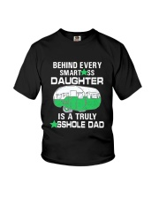 DAUGHTER CAMPING Youth T-Shirt thumbnail