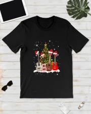 TREE CHRISTMAS UKULELE Classic T-Shirt lifestyle-mens-crewneck-front-17