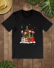 TREE CHRISTMAS UKULELE Classic T-Shirt lifestyle-mens-crewneck-front-18