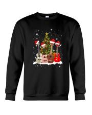 TREE CHRISTMAS UKULELE Crewneck Sweatshirt thumbnail