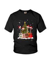 TREE CHRISTMAS UKULELE Youth T-Shirt thumbnail