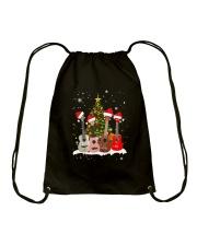 TREE CHRISTMAS UKULELE Drawstring Bag thumbnail