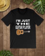 I'M JUST GUITAR PLAYER Classic T-Shirt lifestyle-mens-crewneck-front-18