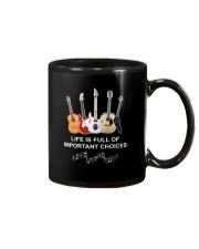 LIFE CHOICES GUITAR Mug thumbnail