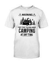 TALKING ABOUT CAMPING Classic T-Shirt thumbnail