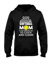 GOD SOFTBALL Hooded Sweatshirt thumbnail