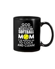 GOD SOFTBALL Mug thumbnail