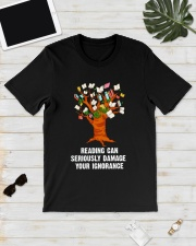 READING IGNORANCE Classic T-Shirt lifestyle-mens-crewneck-front-17