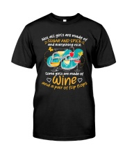 SUGAR SPICE WINE Classic T-Shirt front