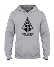 CAMPING THINK OUTSIDE Hooded Sweatshirt thumbnail