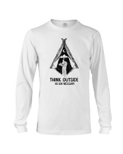 CAMPING THINK OUTSIDE Long Sleeve Tee thumbnail