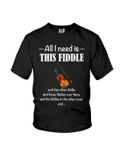 ALL I NEED FIDDLE Youth T-Shirt thumbnail