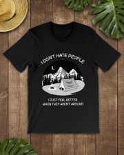 HATE PEOPLE AROUND Classic T-Shirt lifestyle-mens-crewneck-front-18