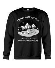 HATE PEOPLE AROUND Crewneck Sweatshirt thumbnail