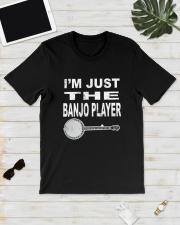 I'M JUST BANJO PLAYER Classic T-Shirt lifestyle-mens-crewneck-front-17