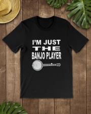 I'M JUST BANJO PLAYER Classic T-Shirt lifestyle-mens-crewneck-front-18