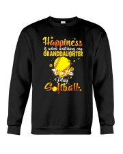 HAPPINESS SOFTBALL Crewneck Sweatshirt thumbnail