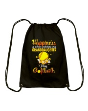 HAPPINESS SOFTBALL Drawstring Bag thumbnail
