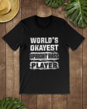 WORLD OKAYEST UPRIGHT BASS Classic T-Shirt lifestyle-mens-crewneck-front-18