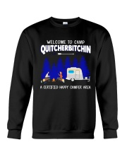 WELCOM CAMPER AREA Crewneck Sweatshirt thumbnail