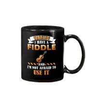 WARNING I HAVE A FIDDLE Mug thumbnail