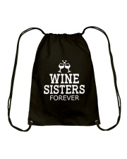 WINE SISTERS Drawstring Bag thumbnail