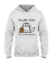FLUFF CAT Hooded Sweatshirt thumbnail