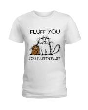 FLUFF CAT Ladies T-Shirt thumbnail