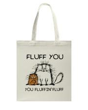 FLUFF CAT Tote Bag thumbnail