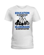 BLUEGRASS IMPORTANTER Ladies T-Shirt thumbnail