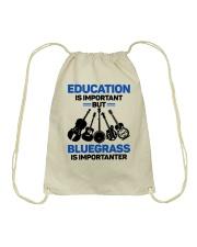 BLUEGRASS IMPORTANTER Drawstring Bag thumbnail