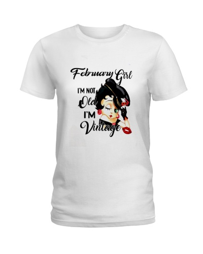 February GIRL VINTAGE