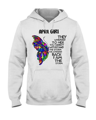 April GIRL - SHE WHISPERED BACK I AM THE STORM