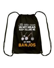 TELLING ME BANJOS Drawstring Bag thumbnail