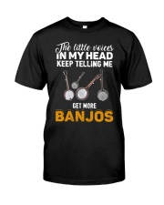 TELLING ME BANJOS Classic T-Shirt front