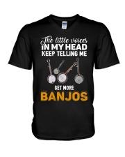 TELLING ME BANJOS V-Neck T-Shirt thumbnail