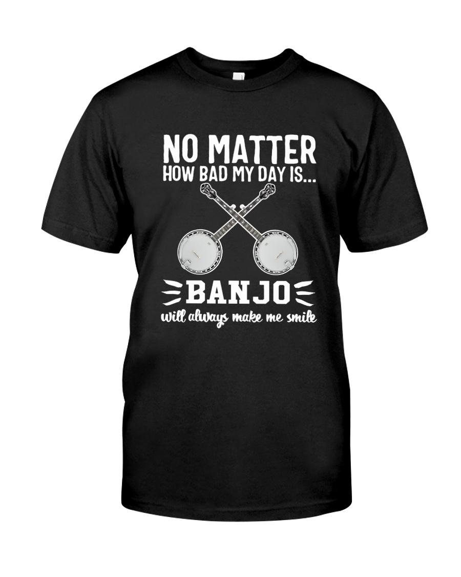 NO MATTER BANJO Classic T-Shirt