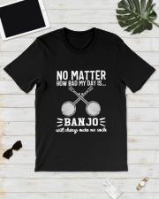 NO MATTER BANJO Classic T-Shirt lifestyle-mens-crewneck-front-17