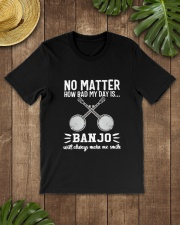 NO MATTER BANJO Classic T-Shirt lifestyle-mens-crewneck-front-18