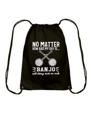 NO MATTER BANJO Drawstring Bag thumbnail