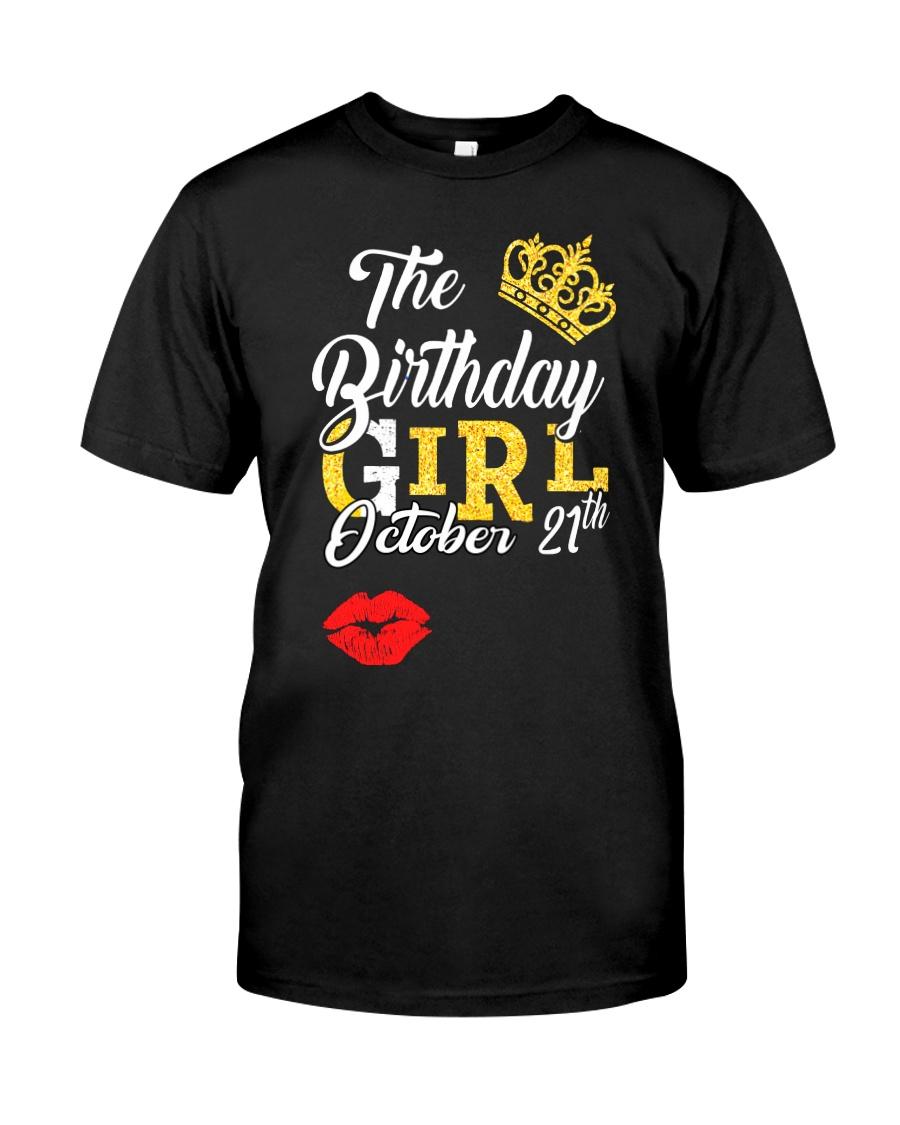 OCTOBER BIRTHDAY GIRL Classic T-Shirt