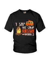 5 DAY CAMPING Youth T-Shirt thumbnail