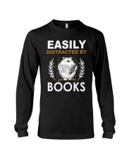DISTRACTED BY BOOK Long Sleeve Tee thumbnail