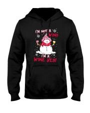WINO WINE YES Hooded Sweatshirt thumbnail